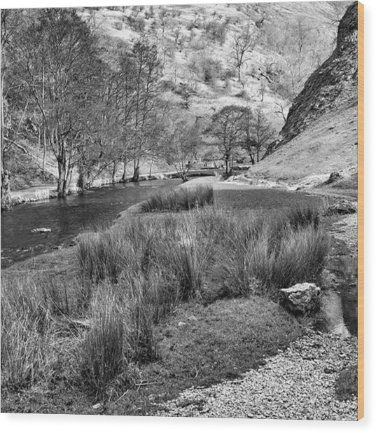 Dovedale, Peak District Uk Wood Print