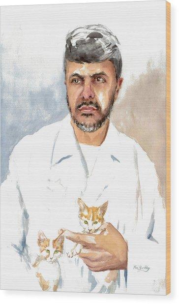 Dr Yoossef Wood Print