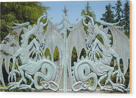 Dragon Gate Wood Print