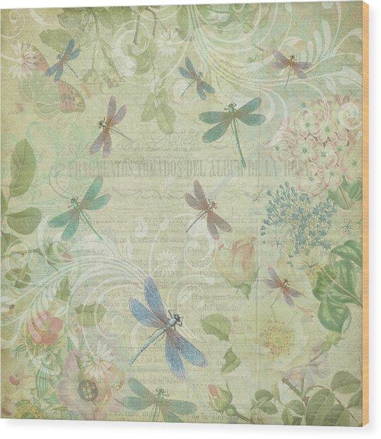 Dragonfly Dream Wood Print