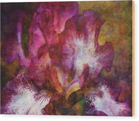Dramatic White And Purple 0273 Idp_2 Wood Print