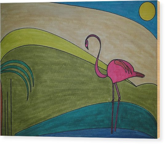 Dream 247 Wood Print