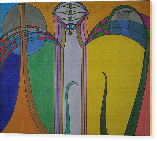 Dream 272 Wood Print