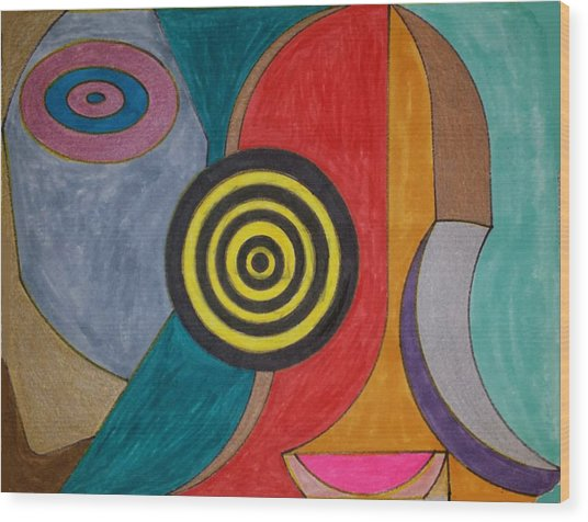 Dream 90 Wood Print