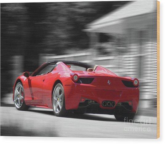 Dream Car Wood Print