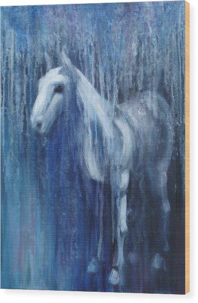 Dream Horse Wood Print