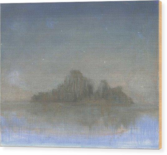 Dream Island Vl Wood Print