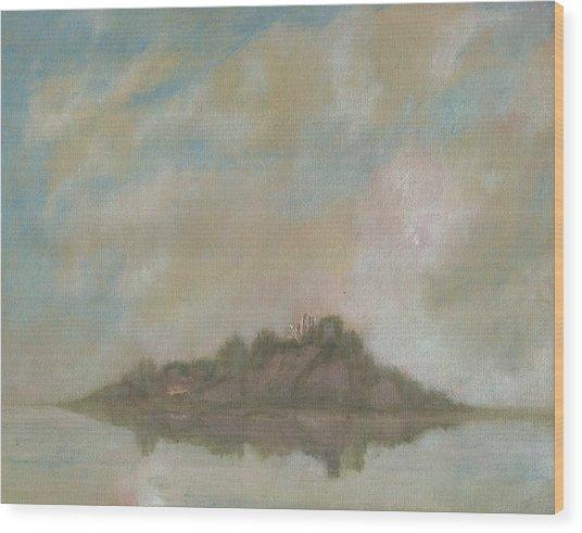 Dream Island V Wood Print