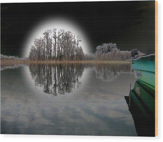 Dream Lake Wood Print by Rick McKinney