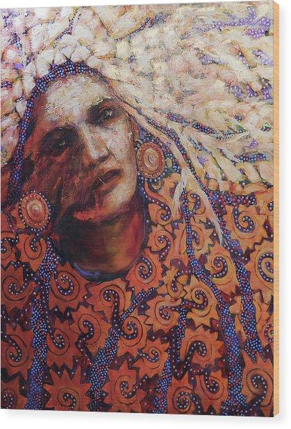 Dream Messenger-ancient Sun Wood Print