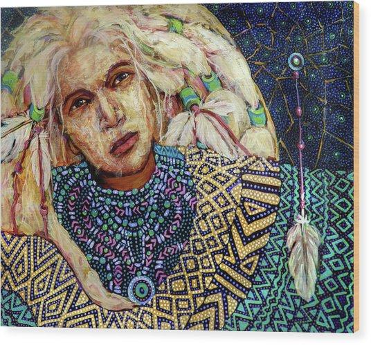 Dream Messenger-shadow Catcher No. 3 Wood Print