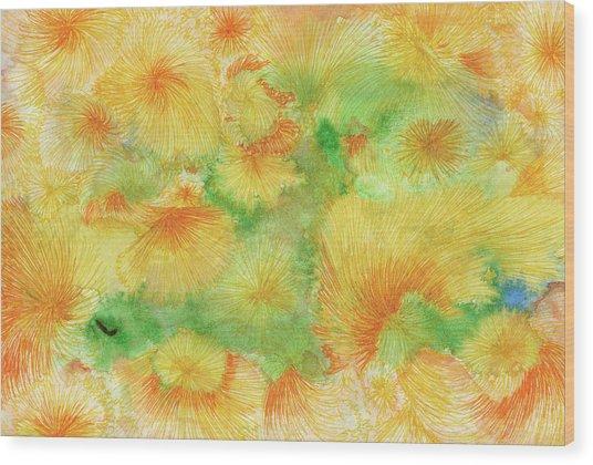 Dream - #ss16dw057 Wood Print by Satomi Sugimoto