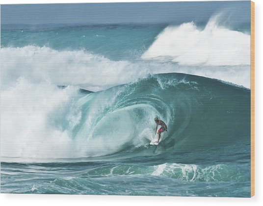 Dream Surf Wood Print