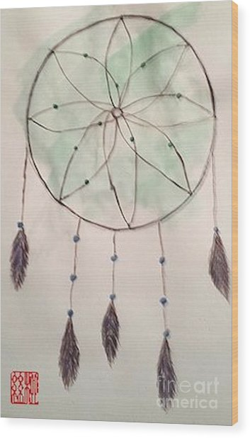 Dreamcatcher Wood Print