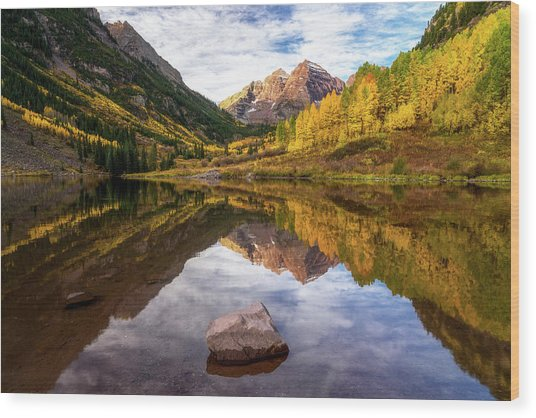 Dreaming Colorado Wood Print