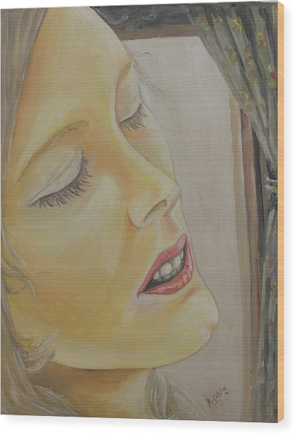 Dreaming Wood Print by Rajesh Chopra