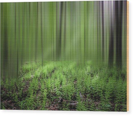 Dreaming Wood Print