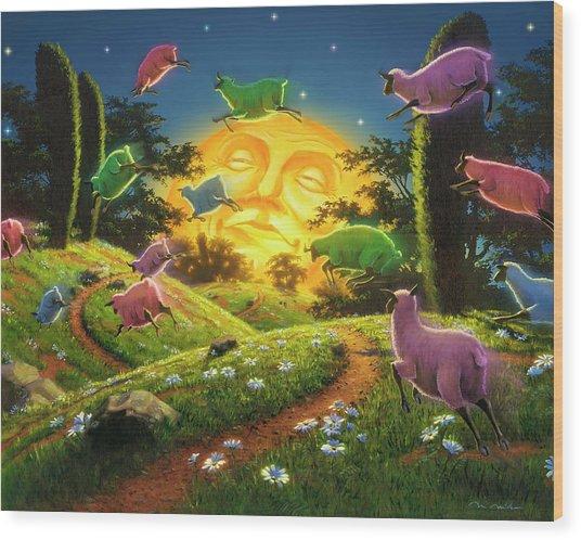 Dreamland IIi Wood Print