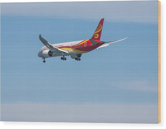 Dreamliner Wood Print