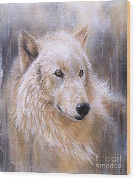 Dreamscape - Wolf II Wood Print