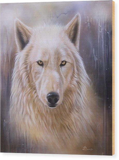 Dreamscape Wolf IIi Wood Print
