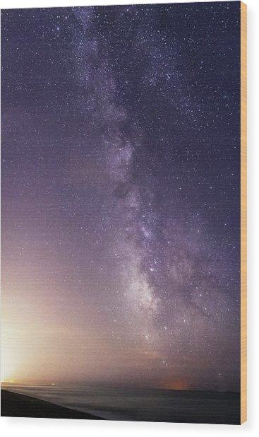 Dreamy Milky Way Wood Print