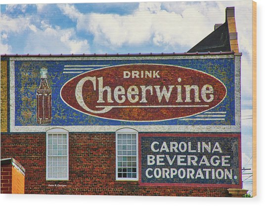 Drink Cheerwine Wood Print