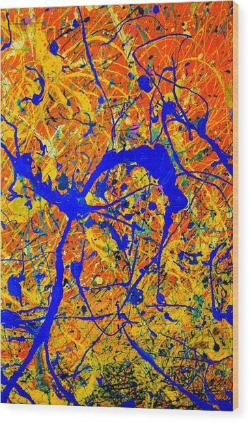 Dripx 90 Wood Print