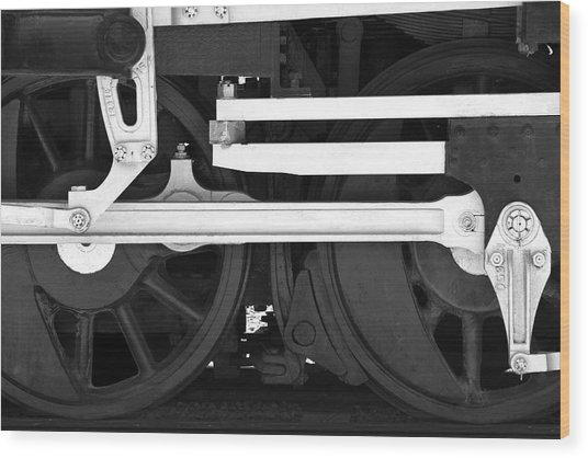 Drive Train Wood Print