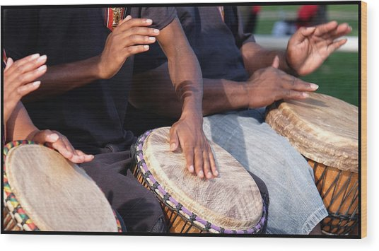 Wood Print featuring the photograph Drum Rhythm by Al Harden