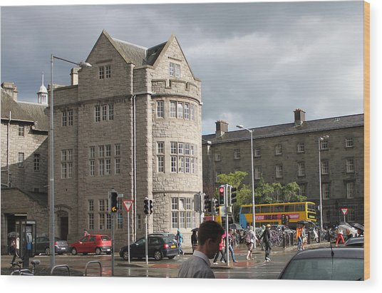 Dublin Near Pearse Street Wood Print