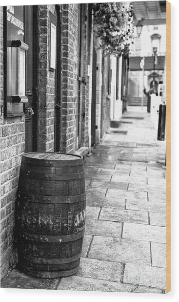 Dublin Street Wood Print