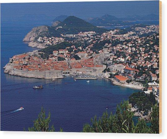 Dubrovnik Croatia Wood Print by Don Wolf