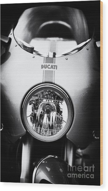 Ducati Ps1000le Wood Print by Tim Gainey