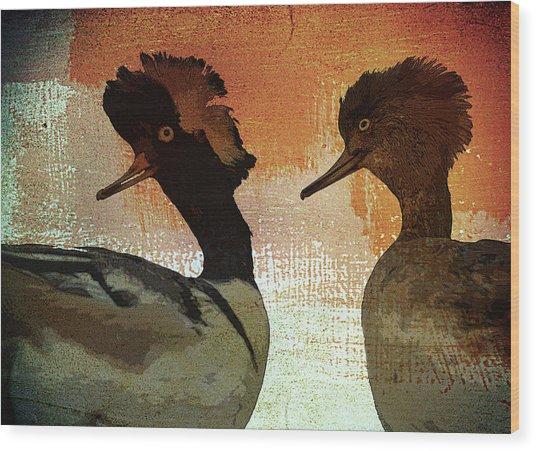 Duckology Wood Print