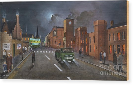 Dudley, Capital Of The Black Country Wood Print