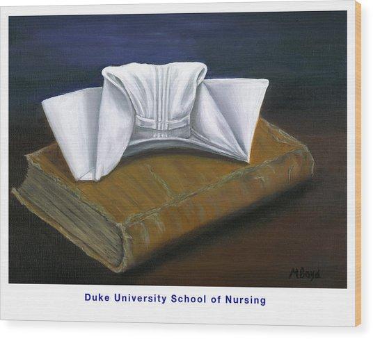 Duke University School Of Nursing Wood Print