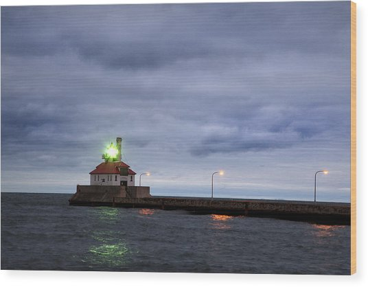 Duluth Harbor  Wood Print
