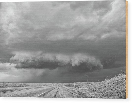 Dumas Wall Cloud Wood Print