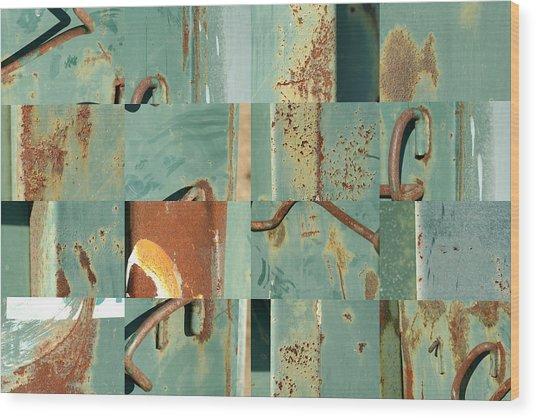 Dumpster 6 Wood Print