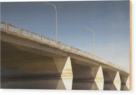 Dundas Street Bridge Wood Print by Michael Rutland