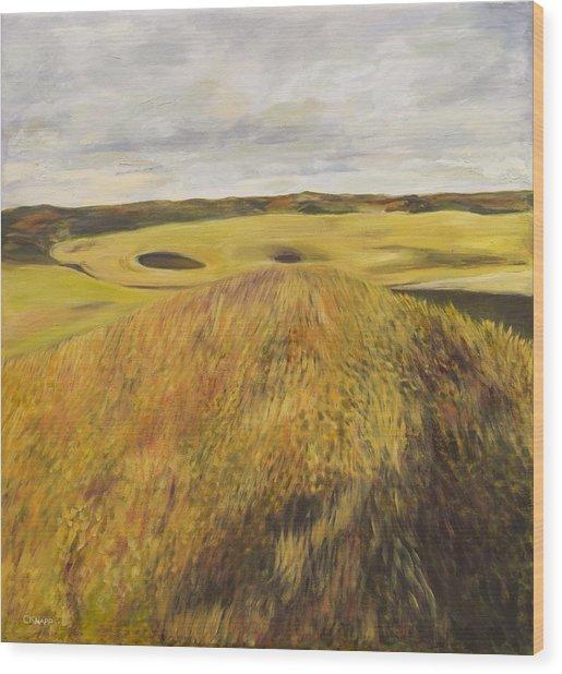 Dundonald Golf Course Wood Print
