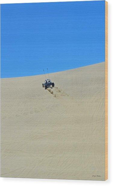 Dune Buggy 003 Wood Print