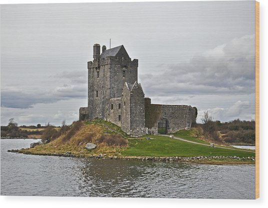Dunguaire Castle Wood Print