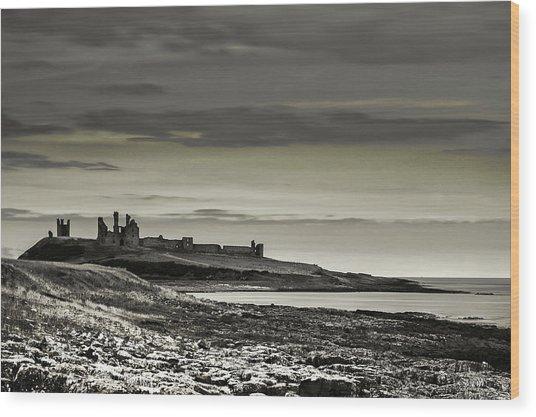 Dunstanburgh Wood Print