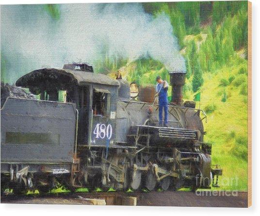 Durango And Silverton 480 Wood Print