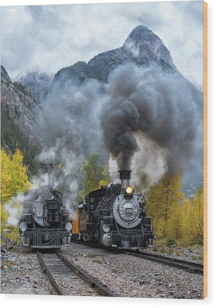 Durango Silverton Train Wood Print