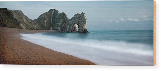 Durdle Door Wood Print by Anthony Dudley & Durdle Door Photograph by Anthony Dudley