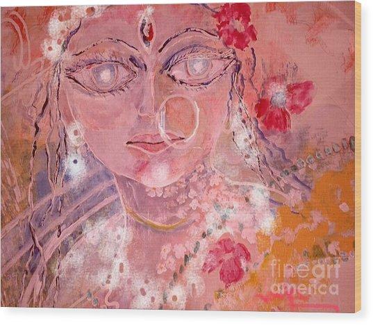 Durga Wood Print