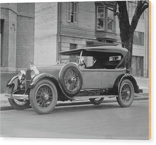Dusenberg Car Circa 1923 Wood Print